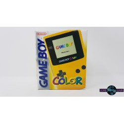 Console game boy color   jaune