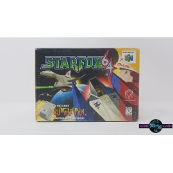 Star Fox 64 includes Rumble...