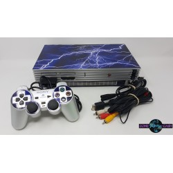 Console Silver Playstation 2