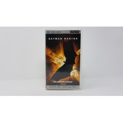 BATMAN BEGINS psp-umd film